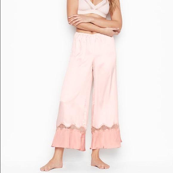 Victoria's Secret Satin Flare Pants